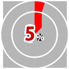 染み・汚れ 5%