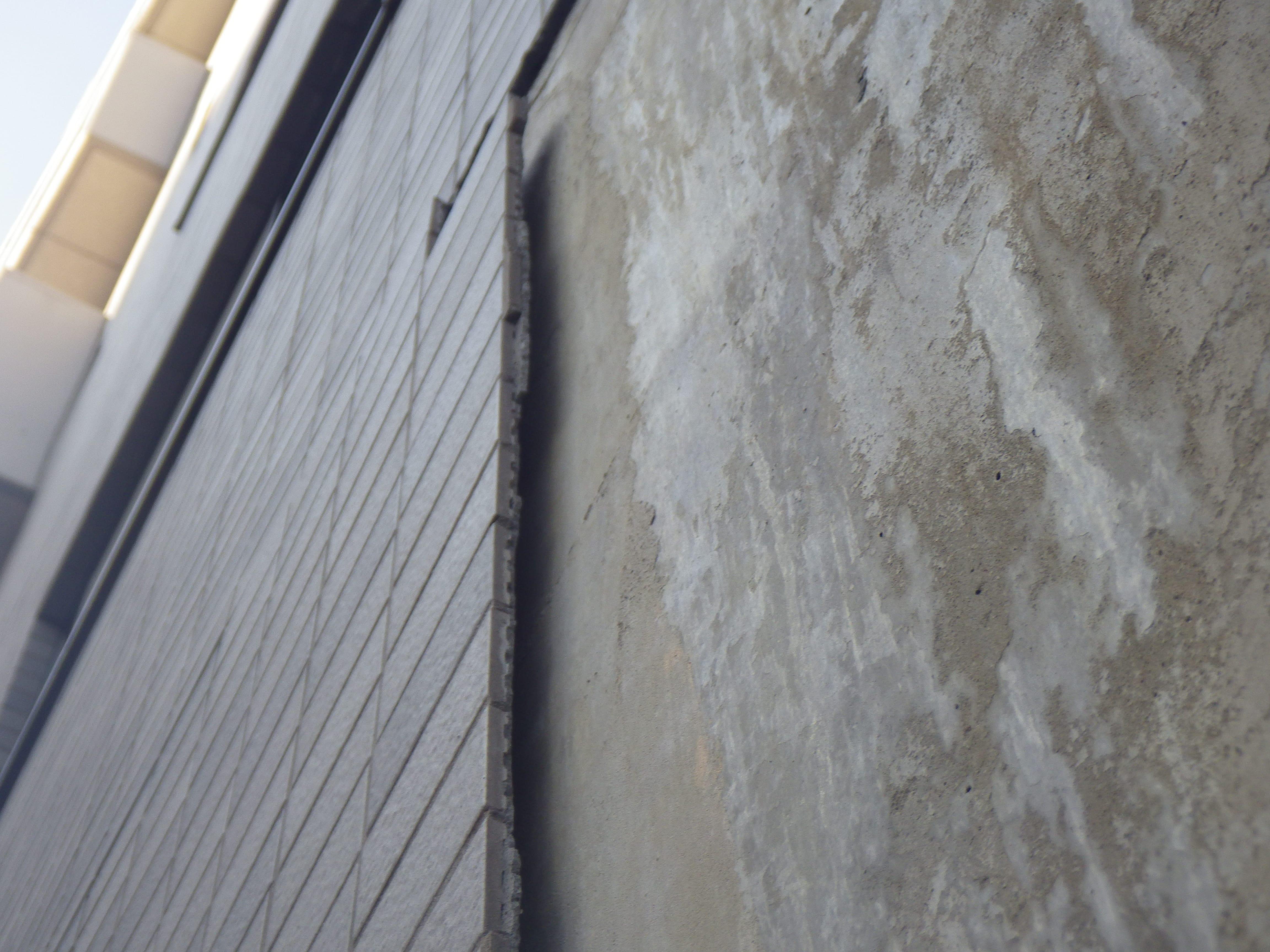 東日本大震災で大量剥落原因は地震じゃなかった